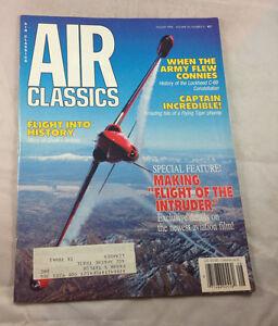 Lockheed-c-69-Captain-Incredible-Aug-1990-Air-Classics-Magazine-Airplane