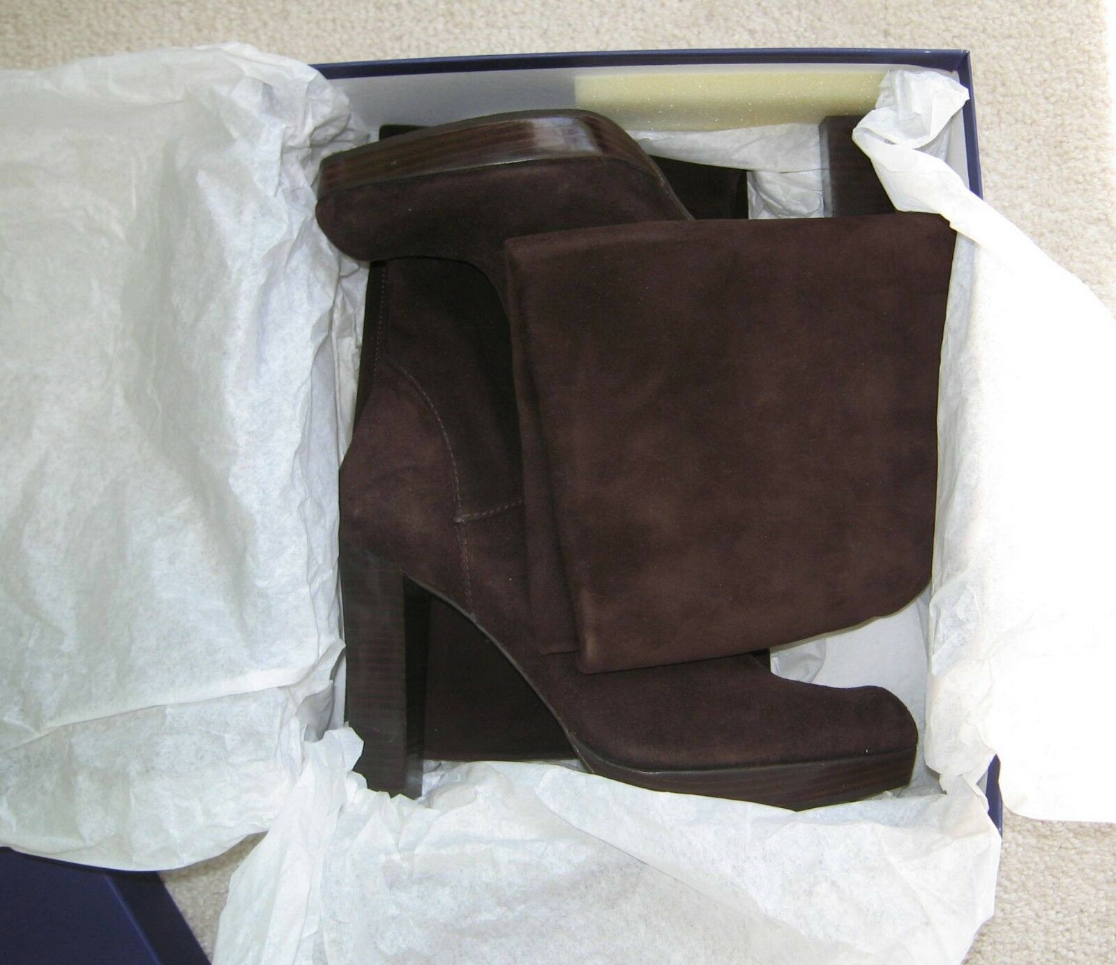 Stuart Weitzman Women's Linear Boot,Chocolate Suede,8.5 M M M US 6ca85f