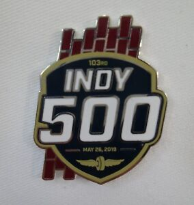 2019-Indianapolis-500-103RD-Running-Event-Collector-Pin