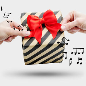 Musik-Geschenkschleife-Musical-Bow-Suck-UK-Happy-Birthday-Sound-Paket-Schleife