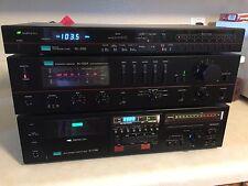 Sansui AU-D55X Integrated Amplifier TU-S55X Stereo Tuner D-770R Cassette Deck
