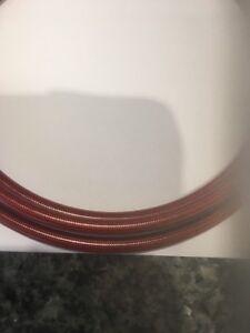 GOODRIDGE-Stainless-Braided-Brake-HosePVC-Translucent-Red-2-Metres