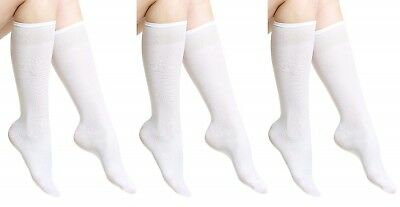3PACK Women opaque plain knee socks Aurellie Multipack