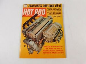 Vintage Original March 1966 Hot Rod Magazine Automotive Custom Car Mods