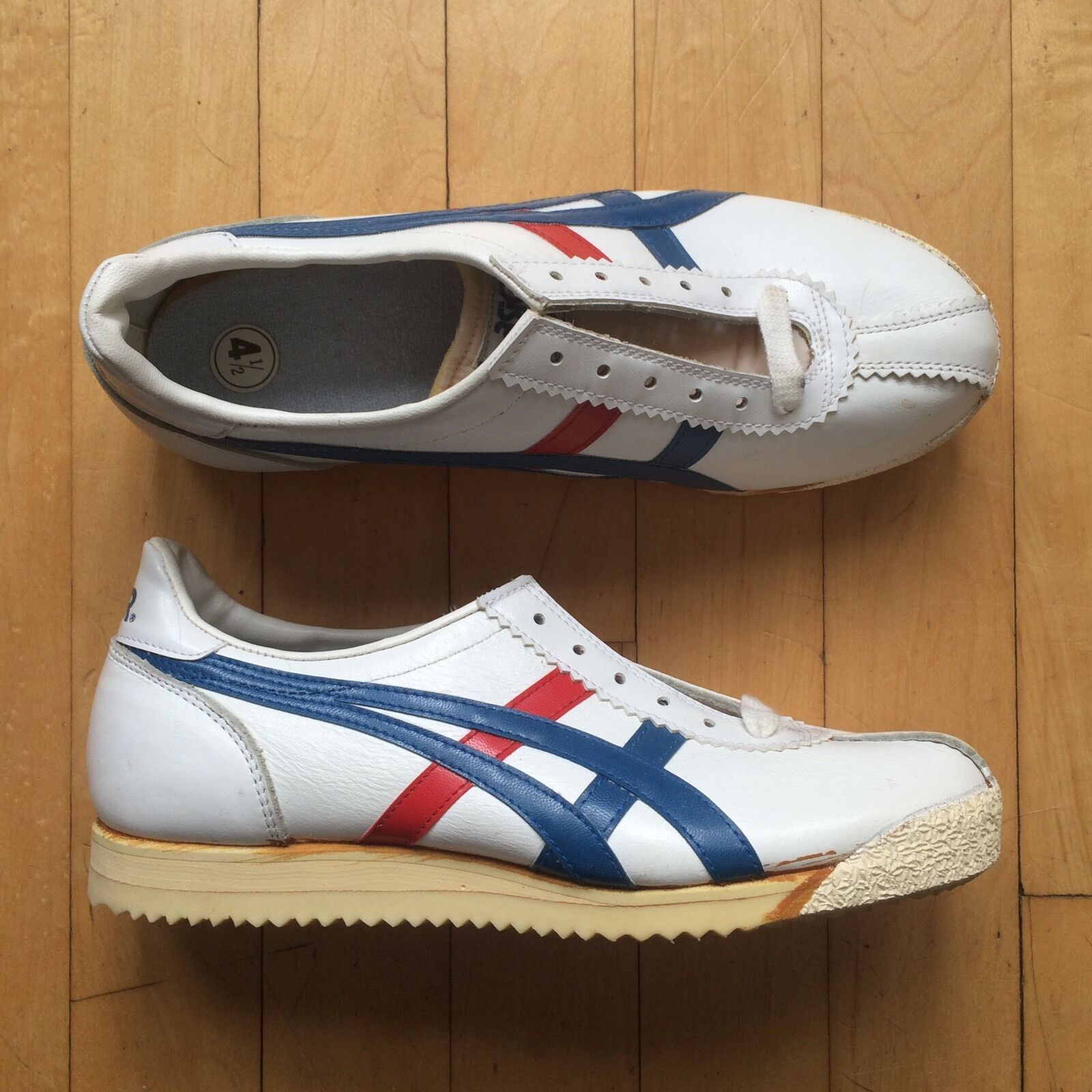 70s NOS Asics Onitsuka Tiger Original Vintage Rare OG Sz 4.5 6 Made In Japan The latest discount shoes for men and women