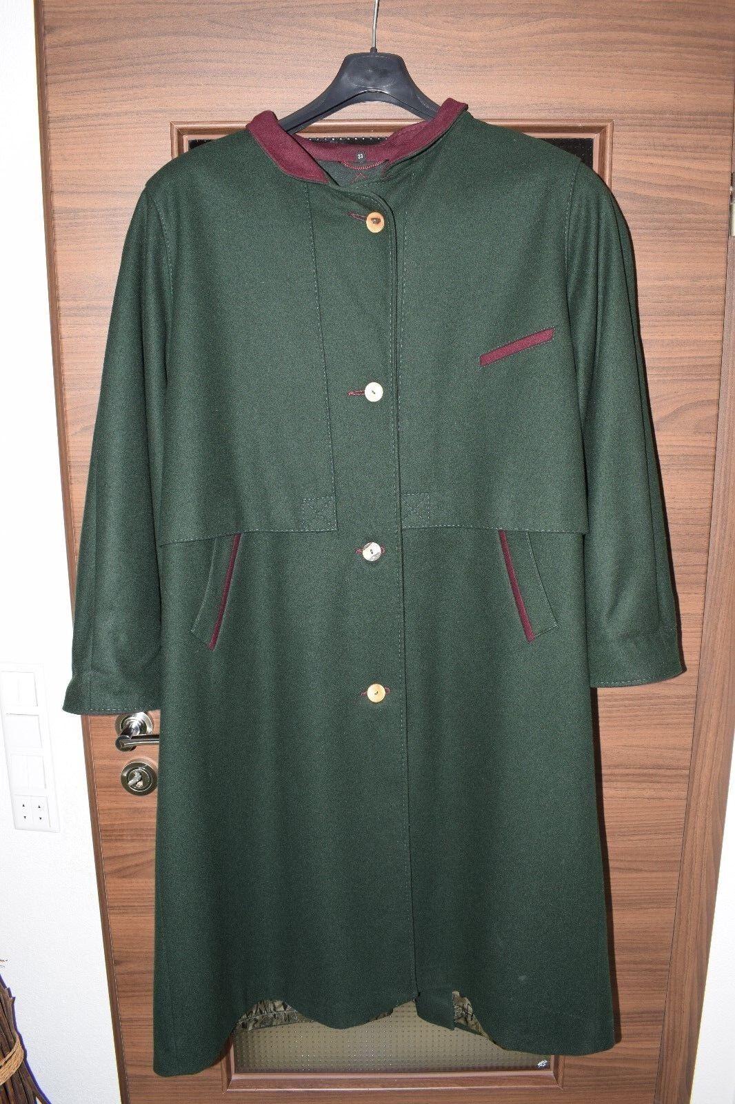 online store d4c16 a85fb Damen Mantel Trachtenmantel grün Größe 23 warm TOP wie neu ...