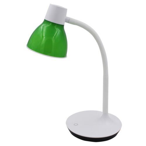 Schreibtisch Bürotisch Lampe Leuchte LED Nachttisch dimmbar 3 Farben 4,2 W Grün