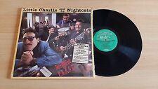 LITTLE CHARLIE AND THE NIGHTCATS-DISTURBING THE PEACE-LP 33 GIRI-CANADA PRESS