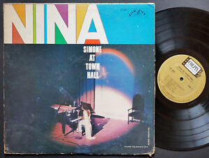 NINA-SIMONE-At-Town-Hall-LP-COLPIX-RECORDS-CP-409-US-1959-MONO-Vocal-Jazz