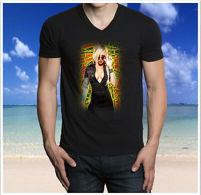 Womens in This Moment Maria Brink Whore T Shirts Black