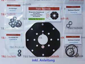 0438101033 LANCIA Thema Mengenteiler Aluminium KE 8 Zyl Reparatursatz Dichtsatz
