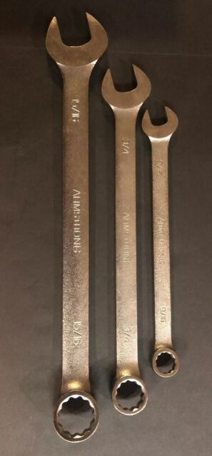 15//16 by 1-Inch Williams 1033C Double Head Open End Wrench