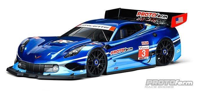 ProtoForm Chevrolet® Corvette™ C7.R Clear Body  GT1  - PRM1551-40