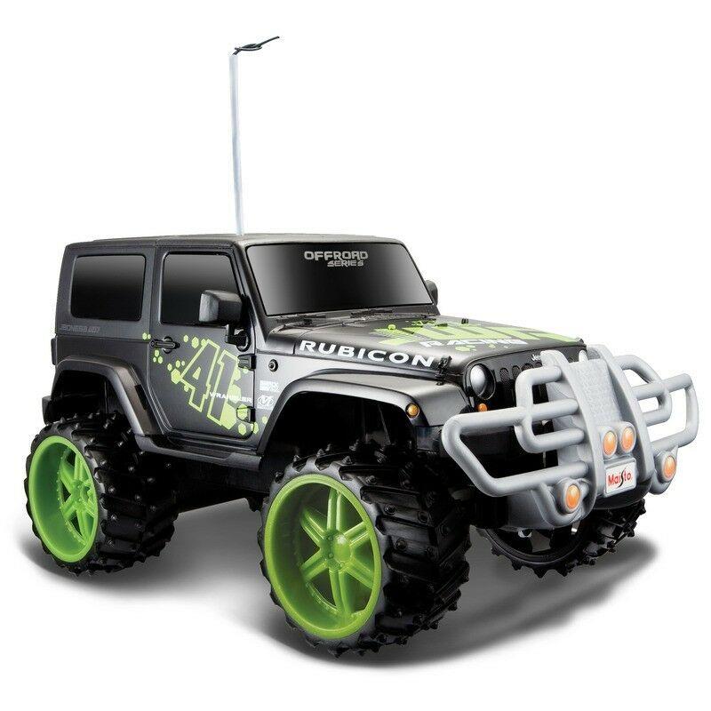 Maisto 1 16 Remote Control Jeep Wrangler Rubicon Toy 4x4 Car