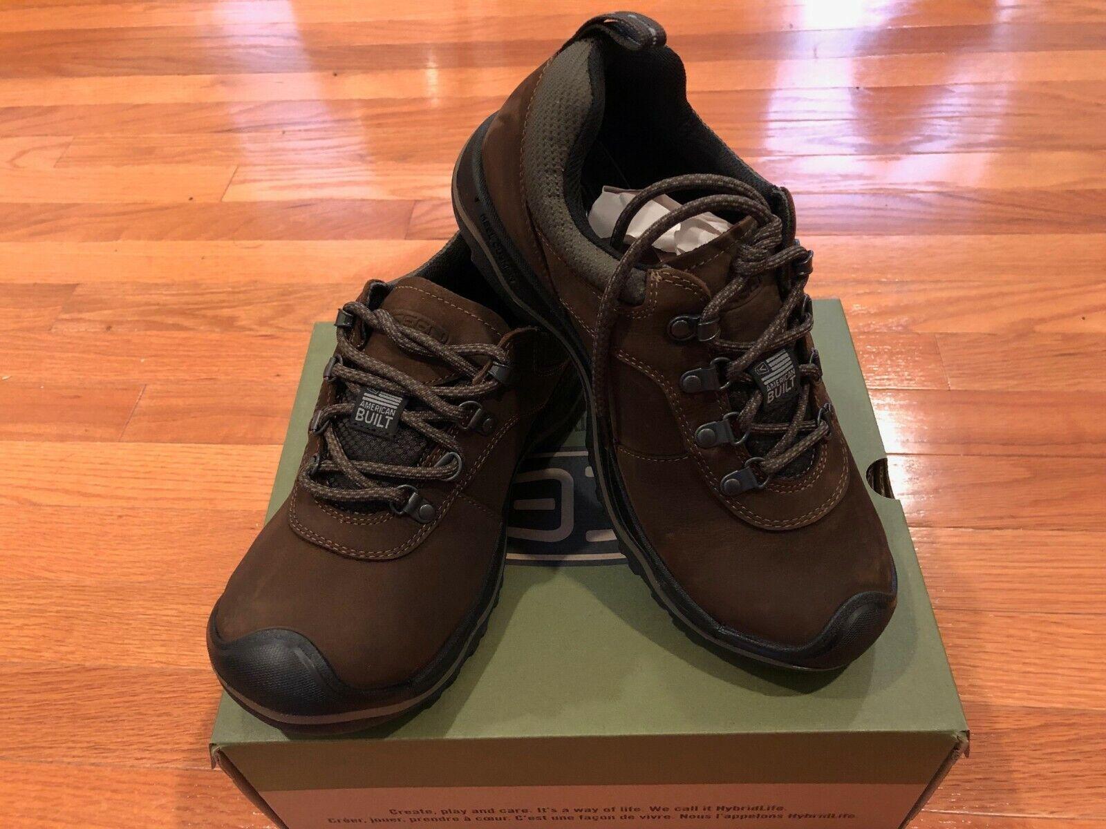 Nuevo En Caja Para Hombre Keen Rialto Encaje Cuero para Caminar Zapatos Zapatillas para EE. UU. 7 6.5