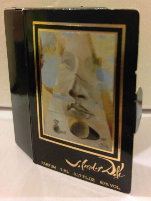 Salvidor Dali Mini Parfum / Perfume splash.17oz New in Box Hard to Find