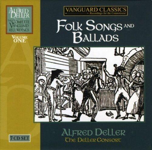 Alfred Deller & the Deller Consort - Folk Songs Ballads [New CD] Boxed Set