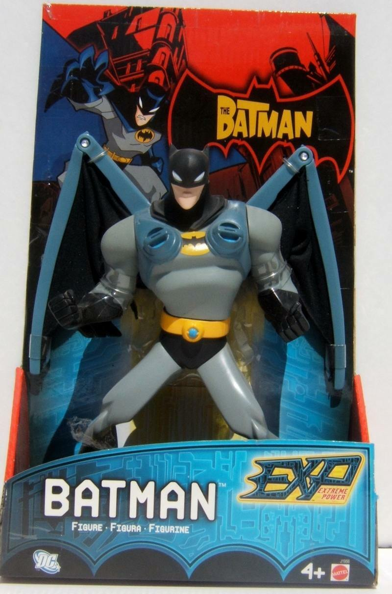 DC Mattel Batman Bruce Wayne Jumbo Wing 10  Extreme Power Action Figure MOC