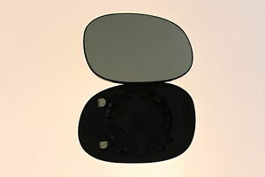 Right driver off side convex wing mirror glass Peugeot 206 1998-2010 118RS