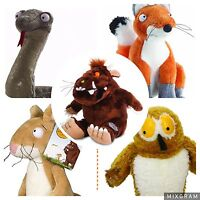The Gruffalo, Owl, Fox, Snake And Mouse Soft Toy Set (all Brand With Tags)
