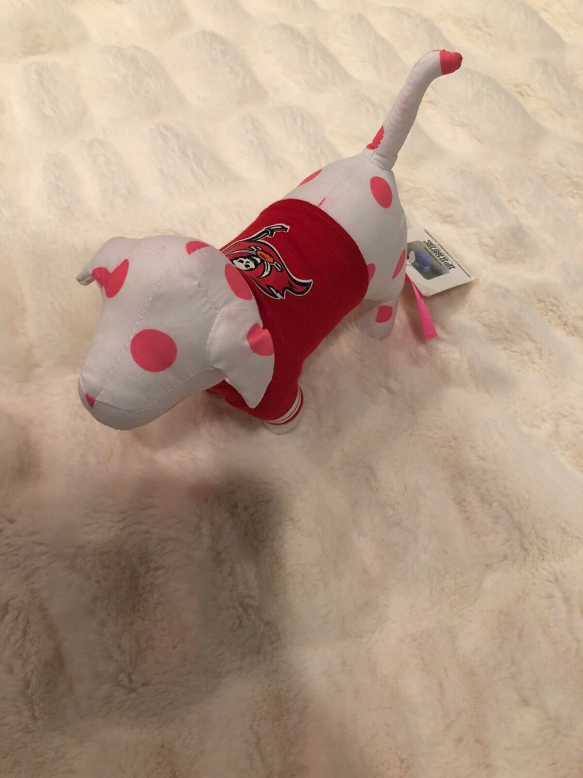 Victoria's Secret rosa NFL dog Tampa bay buccaneers jersey T-shirt dog vs pup
