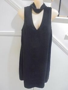 DOTTI-LABEL-SIZE-10-STUNNING-BLACK-EVENING-COCKTAIL-DRESS