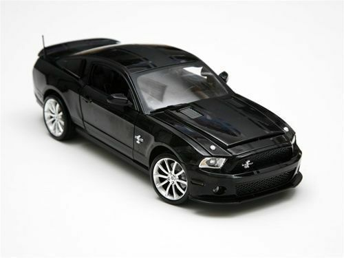 1 18 Shelby Collectibles nero 2010 Ford Shelby gt500 Super Snake Mustang