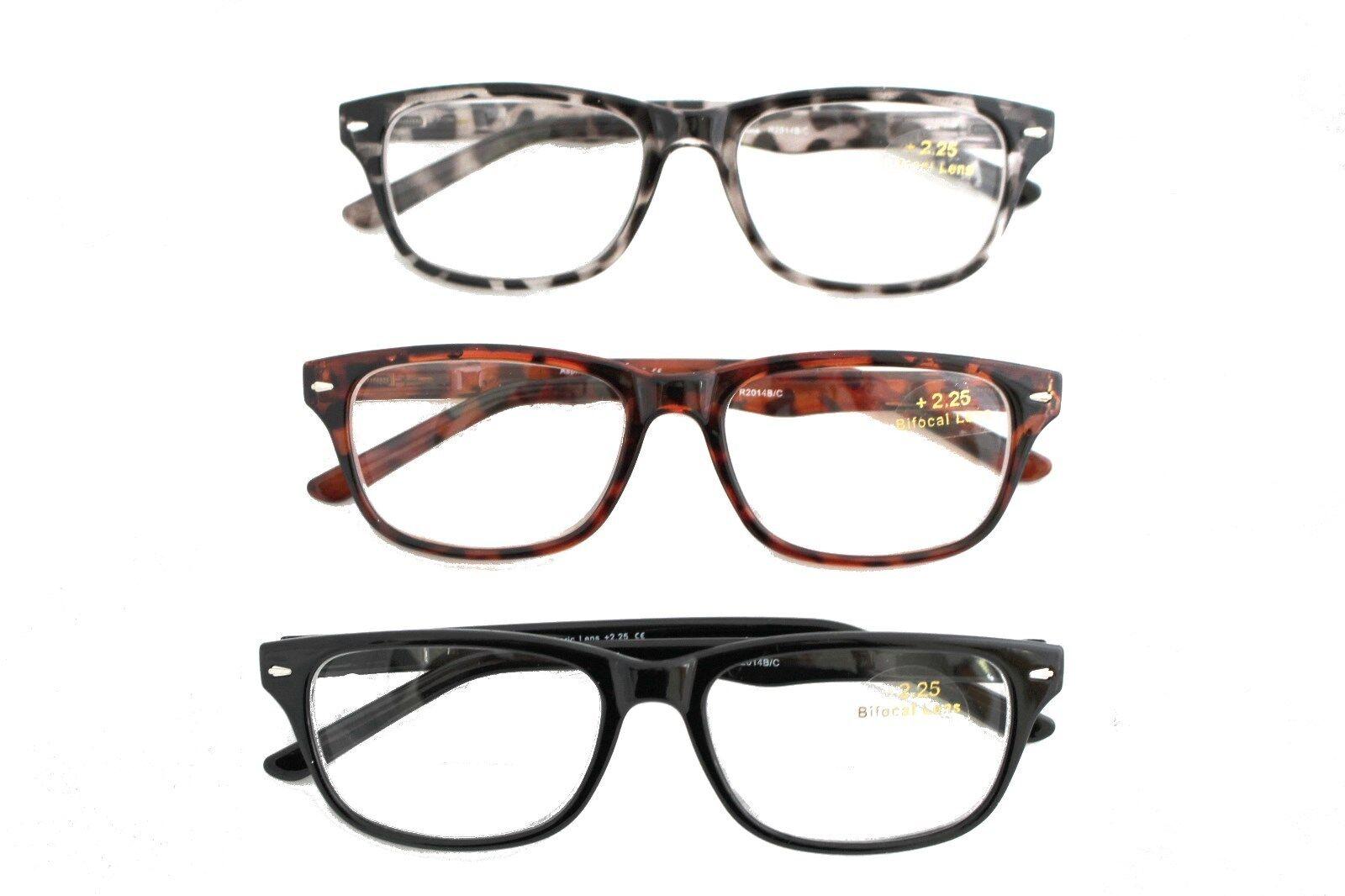 b783c5aaef3 Lightweight BIFOCAL Cheaters Specs Reading Glasses +1.00 - +4.00