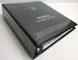 Lamborghini COD 901325756.1 Diablo MY 96-99 Flat Rate Manual