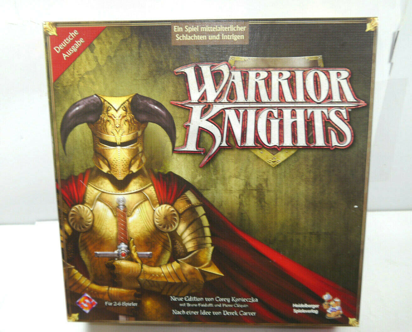 Warrior Knights Board Game Party Game Heidelberger Games Publisher (F16)