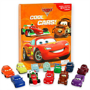 NEW PIXAR Cars Cool Cars My Busy Book Character Figurines - Cars 2 cool cars book