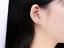 Orecchini-Donna-Cuore-Punto-Luce-Cristallo-Coppia-Paio-Love-Idea-Regalo-Swarovsk miniatura 7