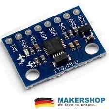 GY-521 MPU-6050 Beschleunigungssensor 3 Achsen Gyroskop Raspberry Pi Arduino