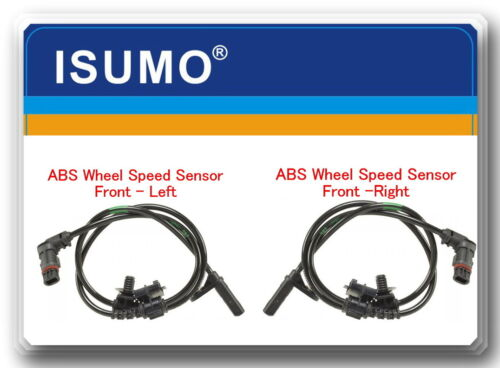 2 ABS Wheel Speed Sensor Front Left /& Right Fits 300 Charger Magnum Only for AWD