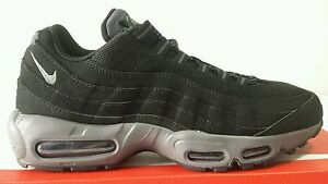 best sneakers f9dcf e51fb Details about NIKE AIR MAX 95 97 PREMIUM BLACK RUBBER DARK GREY N.44 PRICE  CALL