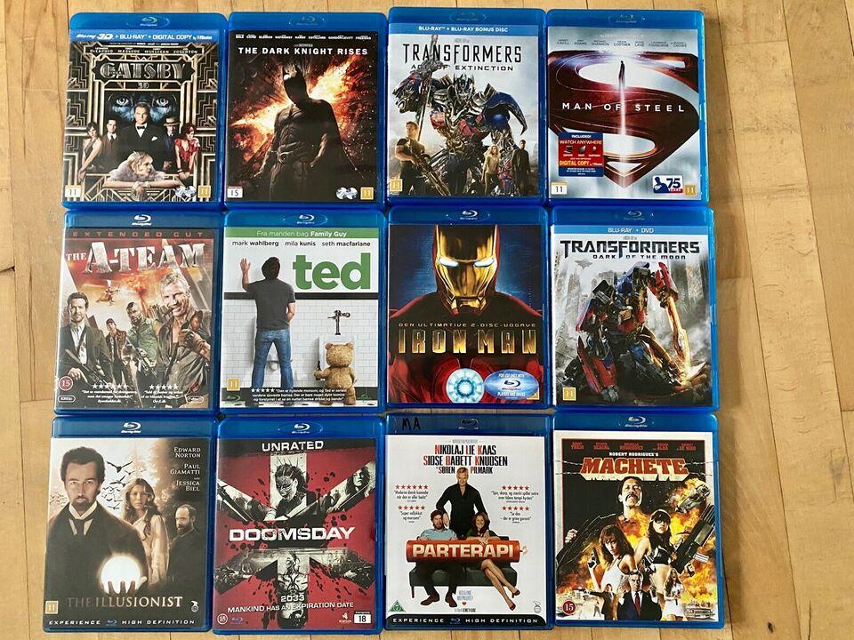 Blu-ray film, Blu-ray, andet