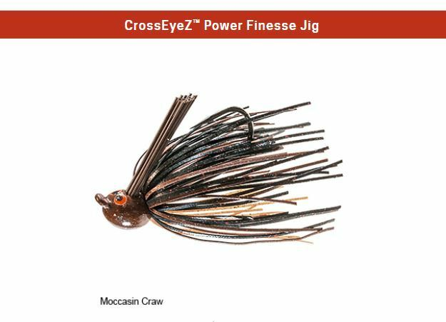 Z Man Jig CrosseyeZ Cross Eye Z-Man Power Finesse Green Pumpkin 1//4oz
