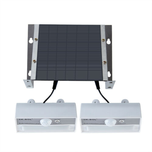34LED Split Type Solar Power Wall Lights  For Outdoor Garden  LED Security Lamp