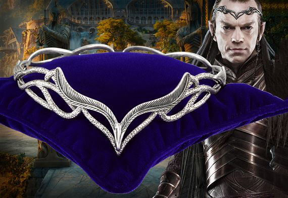 The Hobbit An Unexpected Journey Elrond´s Headdress LOTR NOBLE COLLECTION