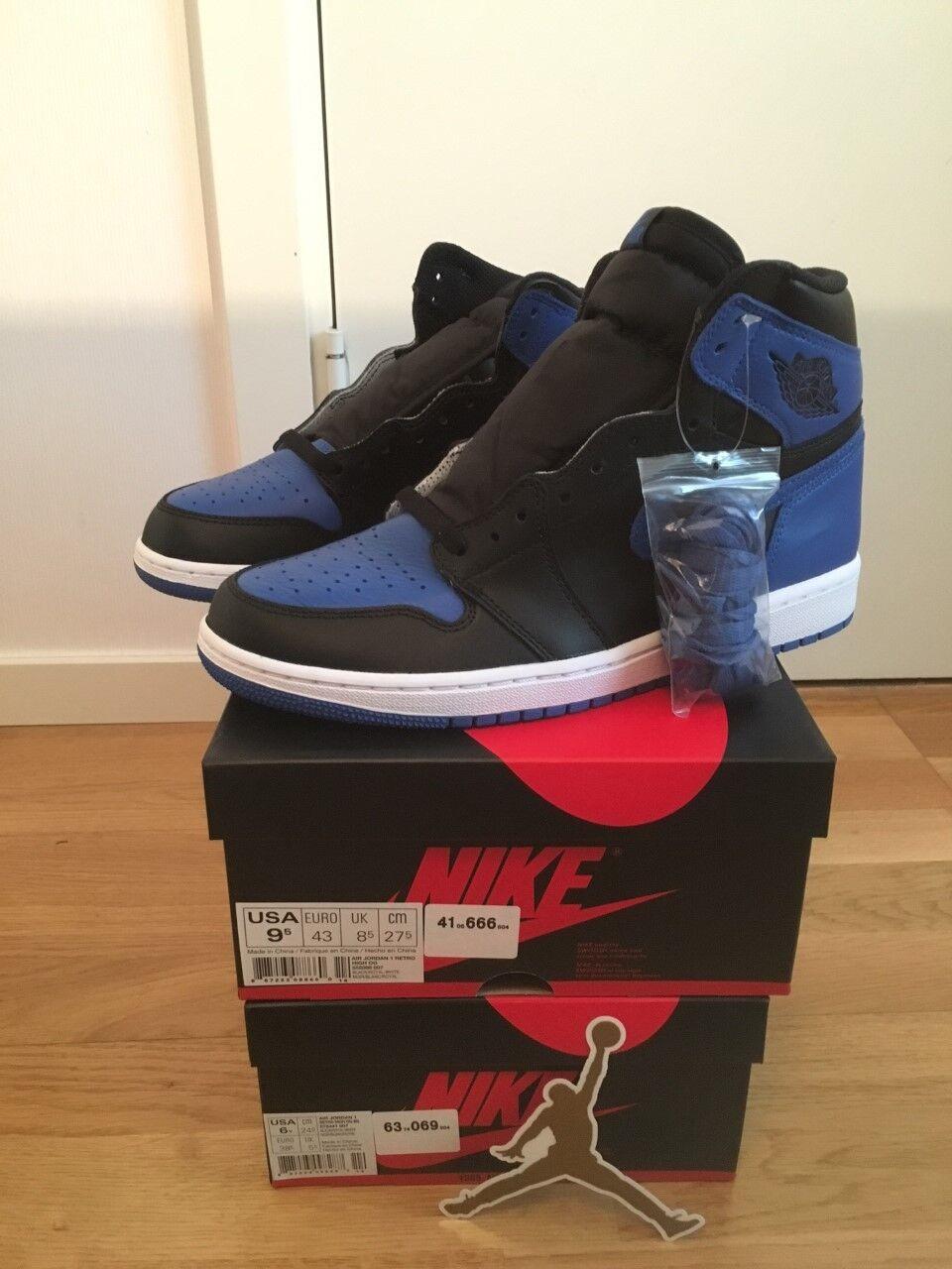 Nike Air Jordan 1 Royal Blue High Retro OG 2017