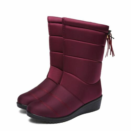 Waterproof Warm Ankle Snow Boots Women Autumn Winter Down Casual Ladies Shoes