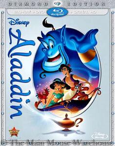 Authentic-Brand-New-Disney-Classic-Aladdin-Blu-ray-DVD-amp-Digital-Copy-Code