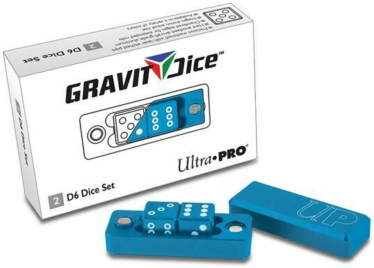 Gravity Dice d6 2-Dice Set Cobalt Ultra Pro GAMING SUPPLY BRAND NEW ABUGames