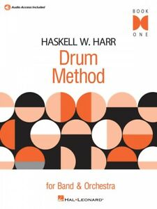 Enthousiaste Haskell W. Harr Drum Method Book One For Band Et Orchestre Tambour Neuf 006620102-afficher Le Titre D'origine Technologies SophistiquéEs