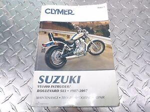 m482 m482 3 87 07 1987 to 2007 suzuki vs 1400 s83 owners book rh ebay com suzuki vs1400 service manual free download GSX1300R