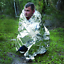 Emergency-Space-Blankets-Camping-Survival-Rescue-First-Aid-Waterproof thumbnail 2