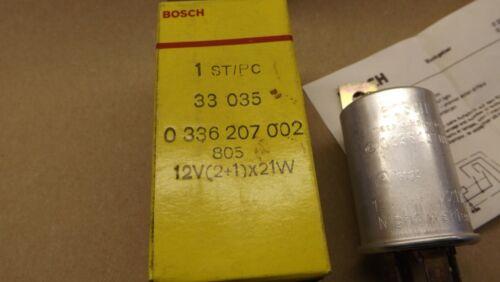Bosch flasher unit 12volt 2+1 x21W.NOS. 330350336207002