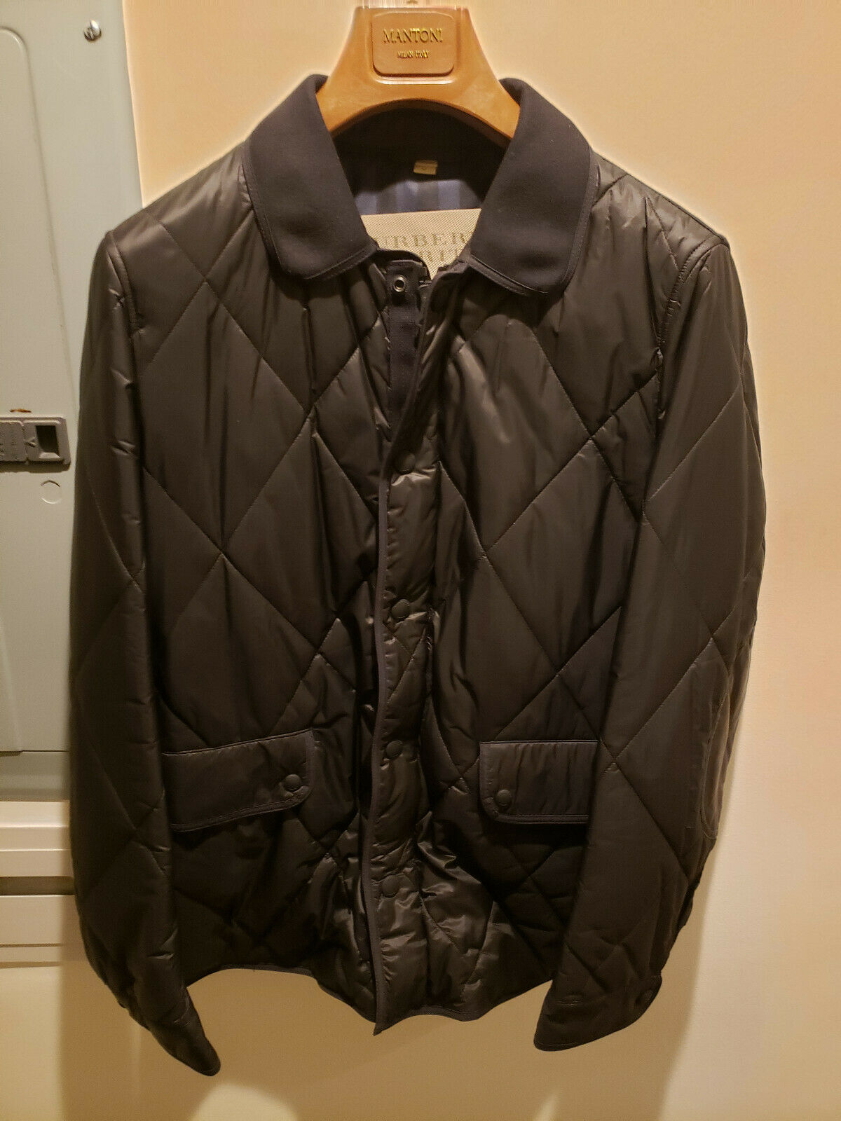 Burberry Quilted Men's jacket - image 1