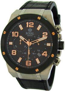 royal london xxl herrenuhr chronograph big mens watch. Black Bedroom Furniture Sets. Home Design Ideas