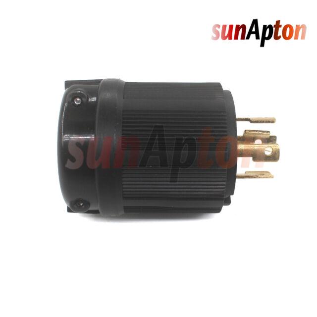 L14-30P 4 Prong Generator Locking Plug 30A 125//250V Safety UL